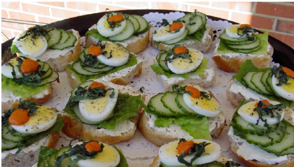 Serving the new england area we do canape catering for Canape catering