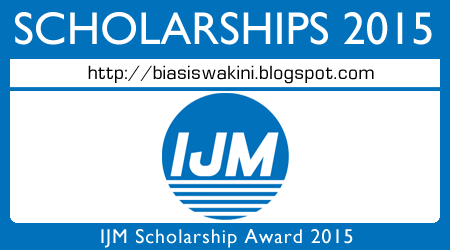 IJM Scholarship Award 2015