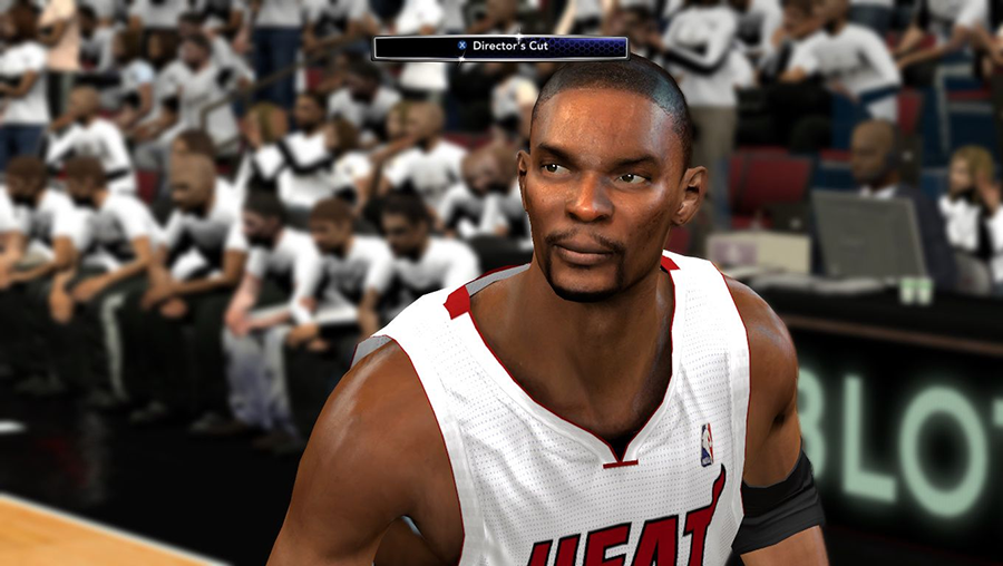 NBA 2K14 Chris Bosh Cyberface Patch