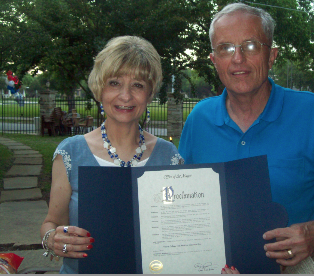 Mayoral proclamation recognizing Travis College Hill Historic District's Day, May 31, 2014