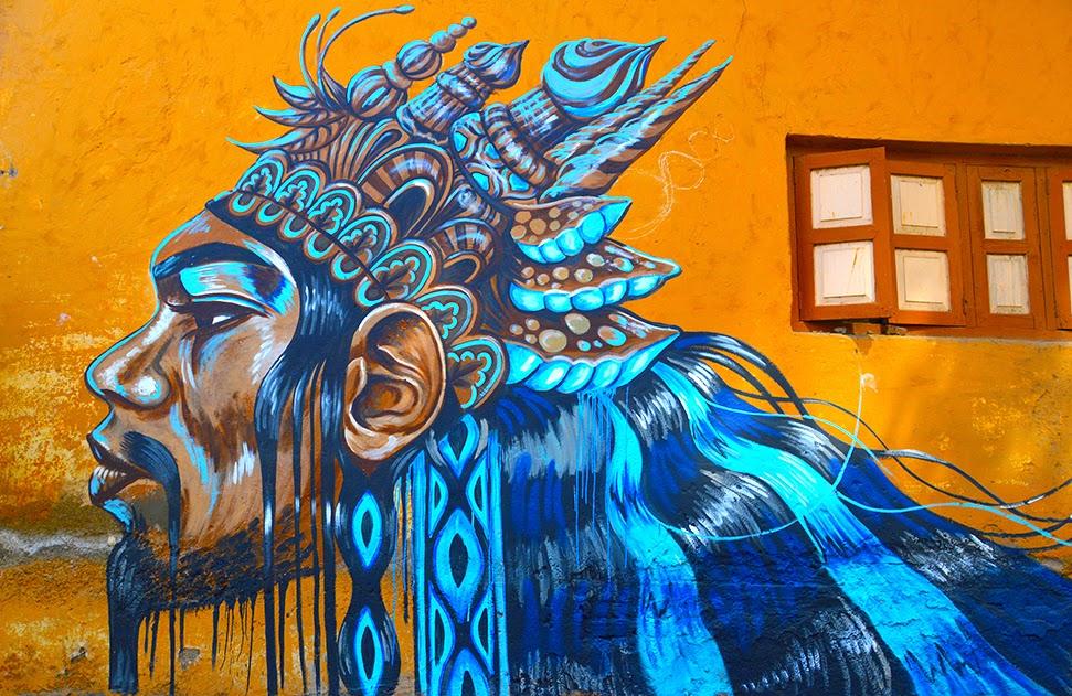 Pune Street Art Project Mural by Kelly Daragh Kasba Peth