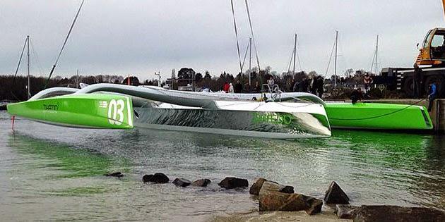 Le MOD70 ex-Foncia de Michel Desjoyeaux  devient Phaedo 3.