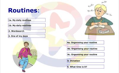 Resultado de imagen de routines educamadrid