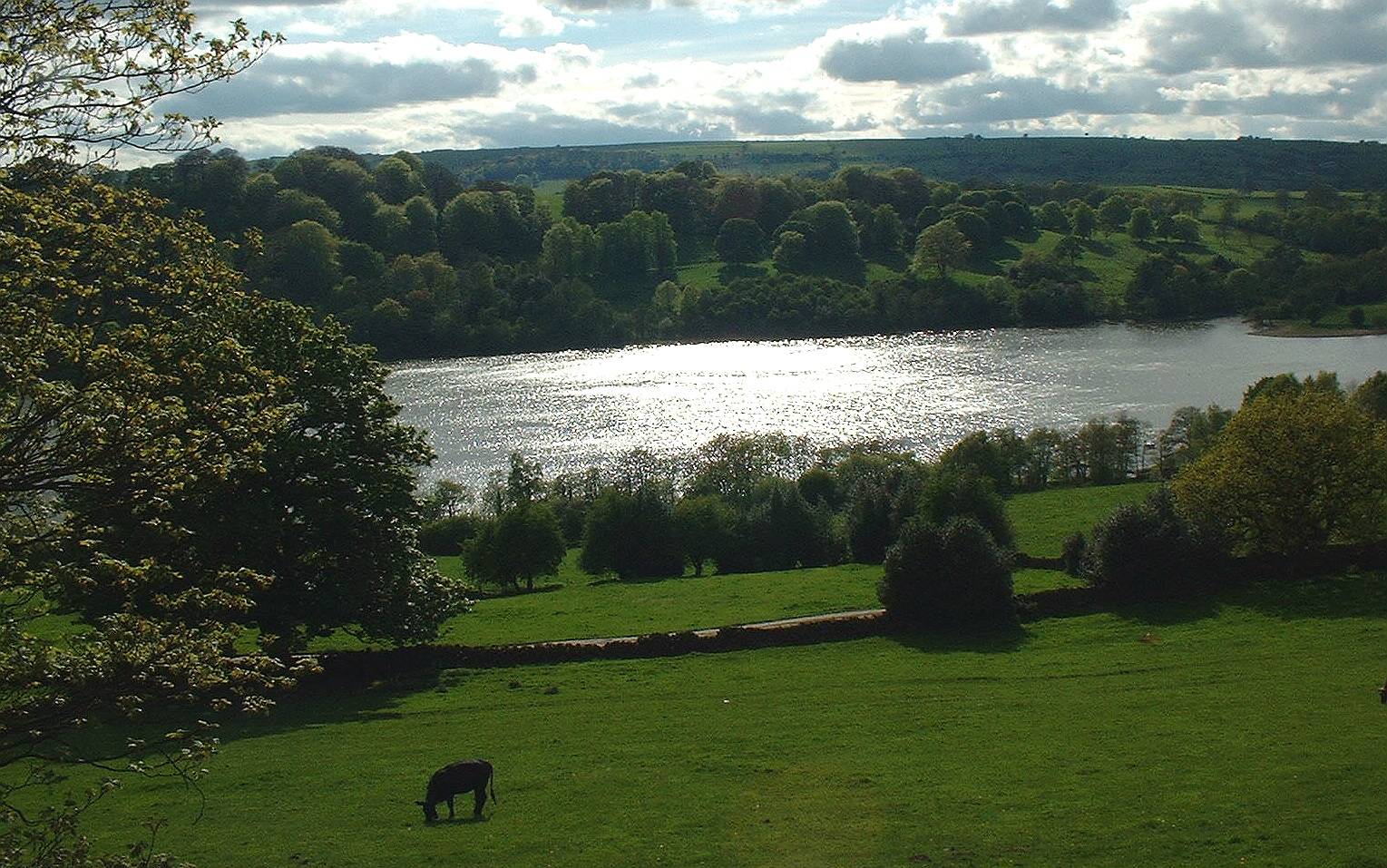 View of Rudyard Lake