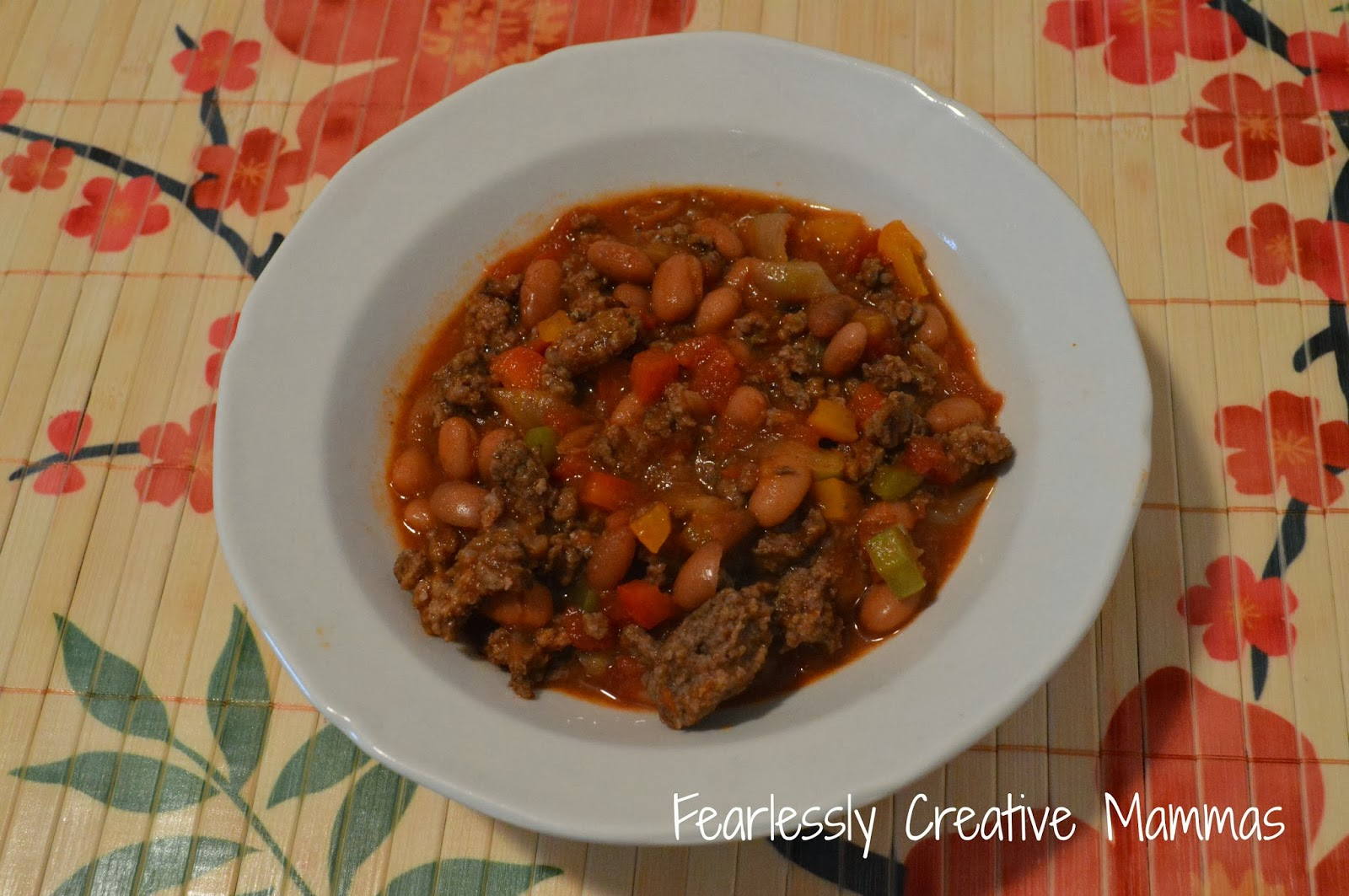 Fearlessly Creative Mammas: Hearty Beef Chili