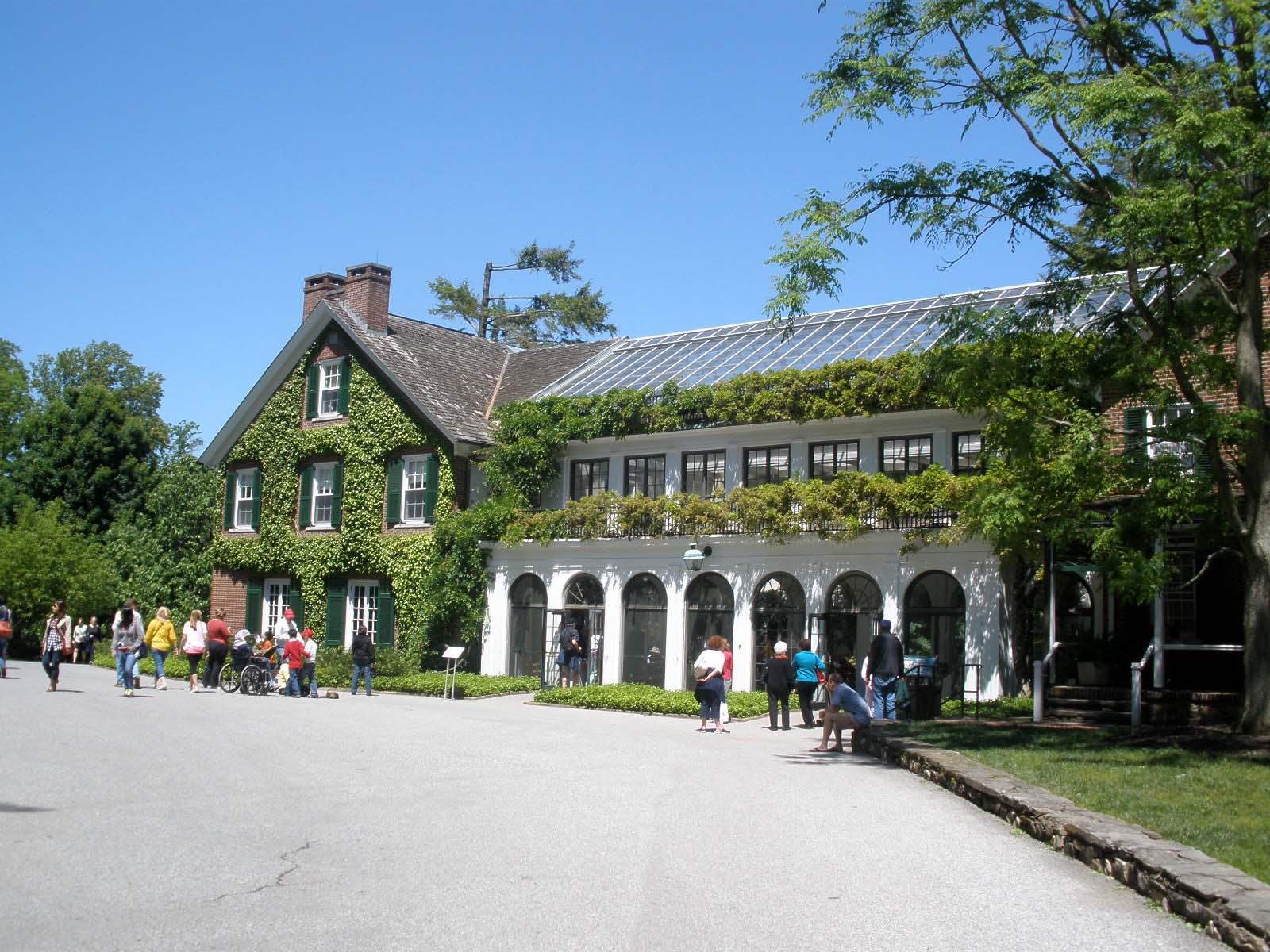 Peirce  Du Pontu0027s House, The Founder Of Longwood Gardens