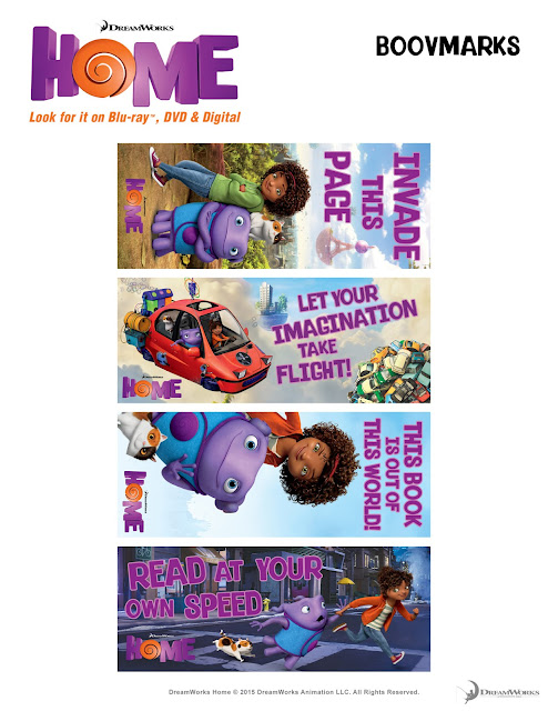 Bookmarks Dreamworks HOME