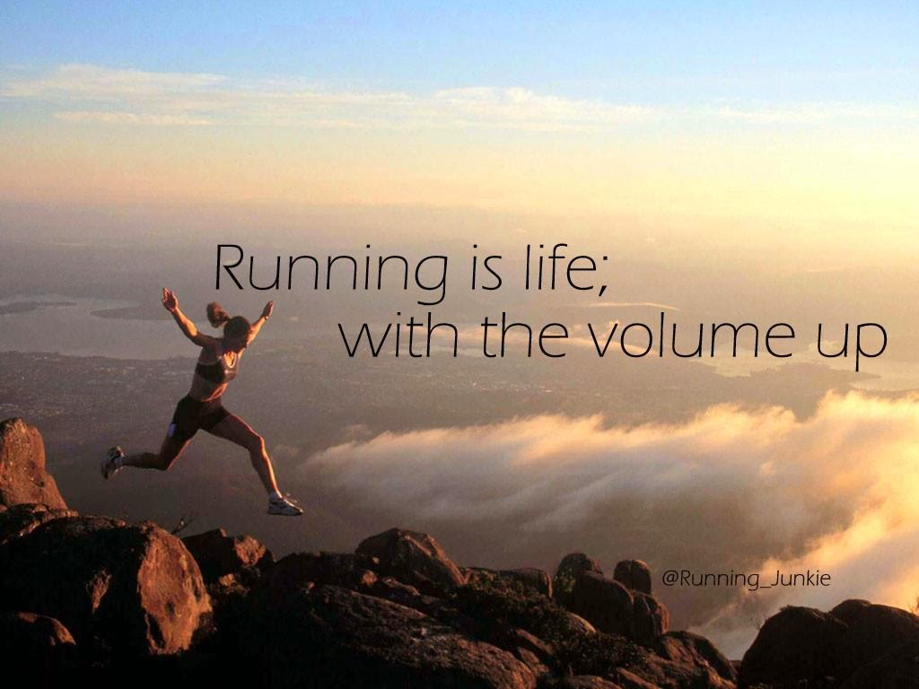 Nike Running Quotes Health Wallpaper
