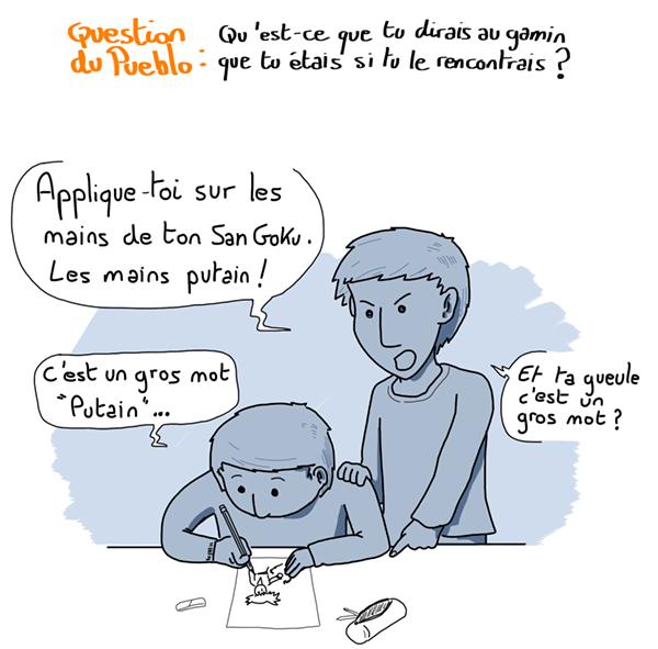 PingPong Blog dessin