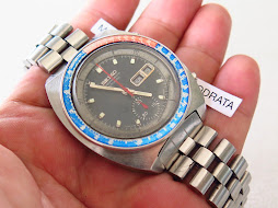 SEIKO CHRONOGRAPH POUGE PEPSI BEZEL - AUTOMATIC 6139 - ALL ORIGINAL