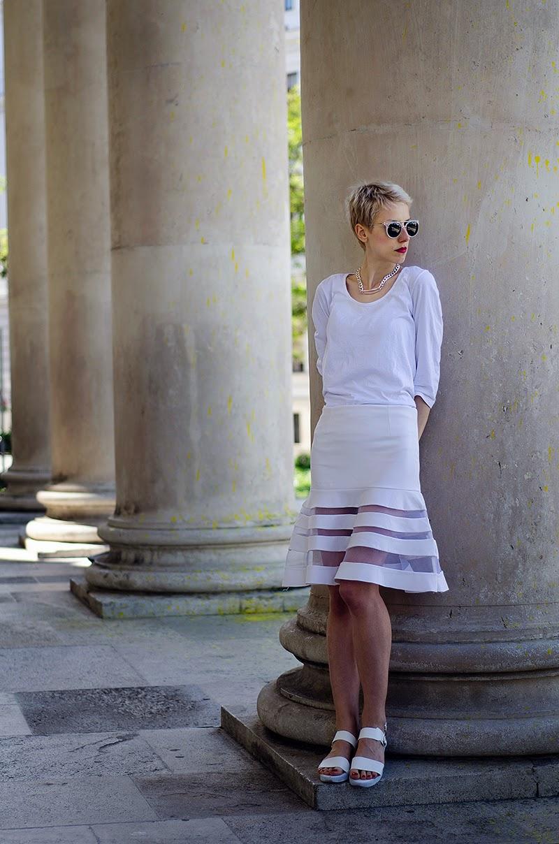 sheer mesh skirt sheinside beeswonderland