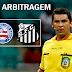 Arbitragem do jogo Bahia x Santos - Campeonato Brasileiro 2014