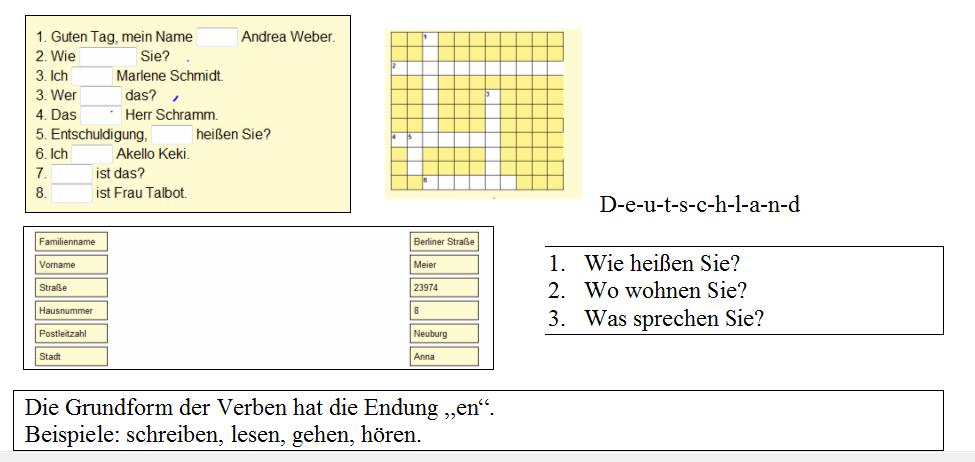 Briefe Schreiben Dtz : Daf werkstatt kurssprache a