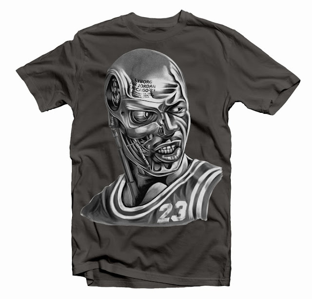 jordan tshirt design