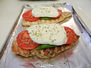 Eggface+Caprese+Chicken+2 Weight Loss Recipes A day in my pouch