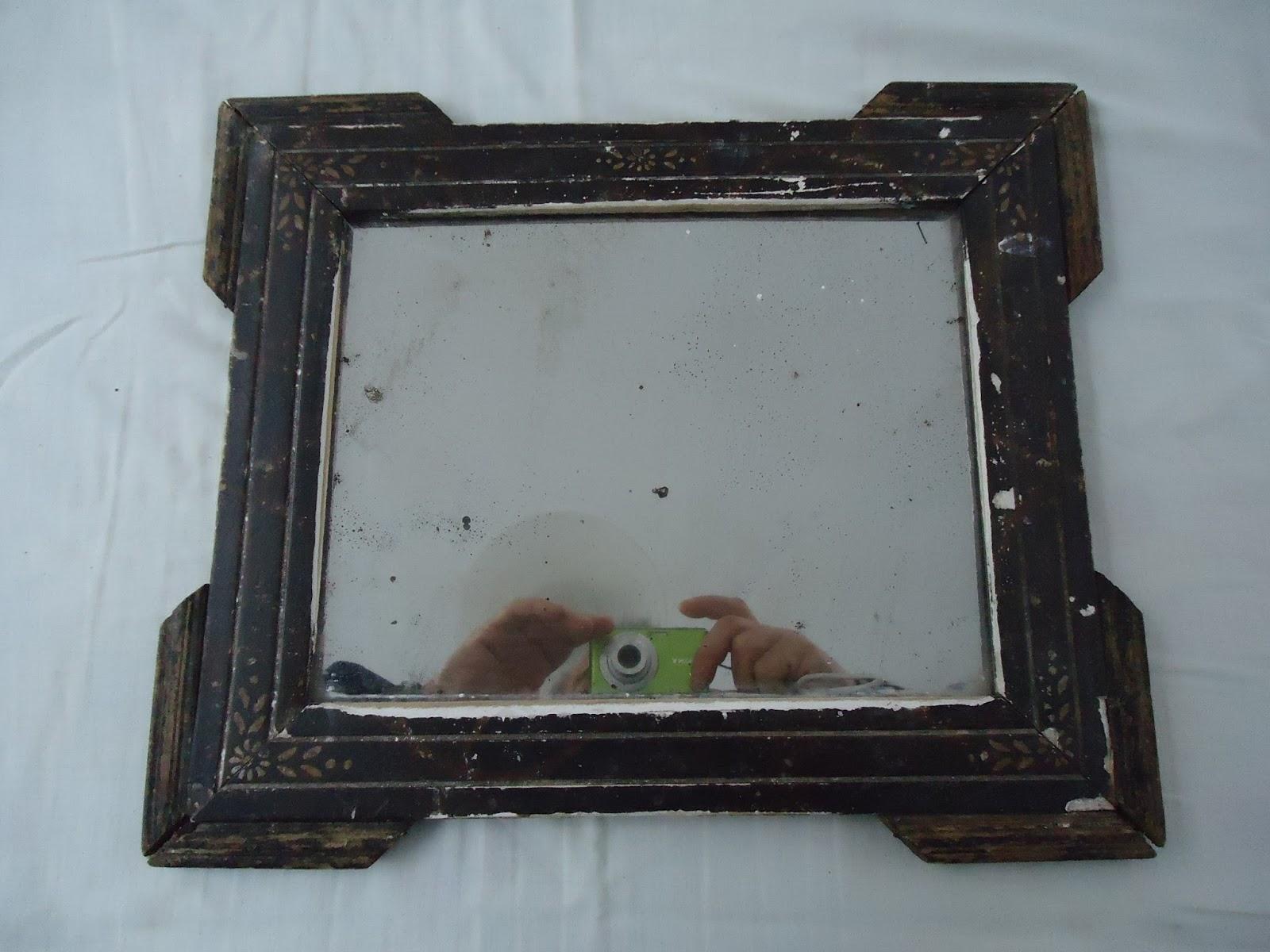 Restaurange marco de espejo antiguo for Marco espejo
