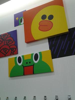 LINE Friends Painting