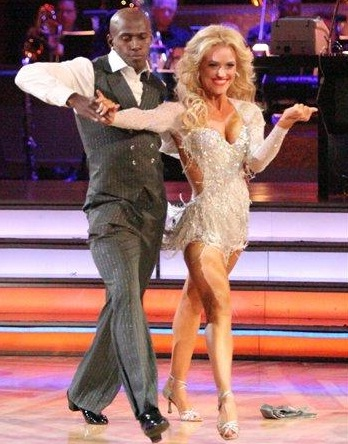 Donald Drive and Murgatroyd at celebrity dance competition