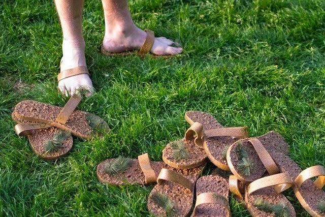Sandales en Liège Anti-Glissements  et Respectueuses de l'environnement