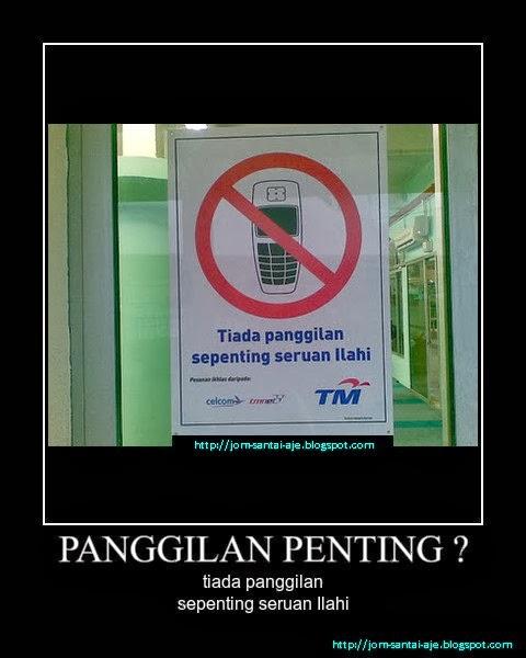 PANGGILAN PENTING ?