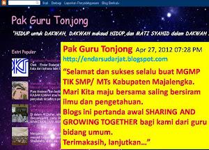 Pak guru Tonjong
