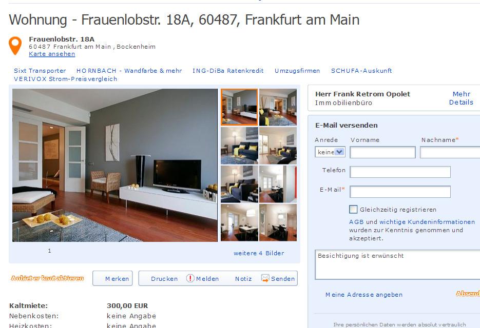 Wohnung miete 2 zimmer scharnhorststrasse 6 7 10115 berlin gegen wohnungsbetrug against - 6 zimmer wohnung berlin ...