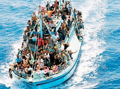 barca immigrazioni legge in italia