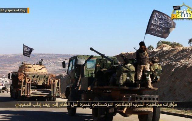 Οι Τουρκομογγόλοι Ουιγούροι επιτίθενται στον συριακό στρατό στην Ιντλίμπ
