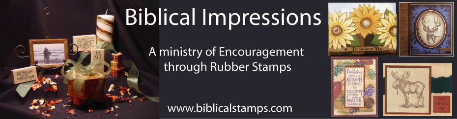 Biblical Impressions Rubber Stamps