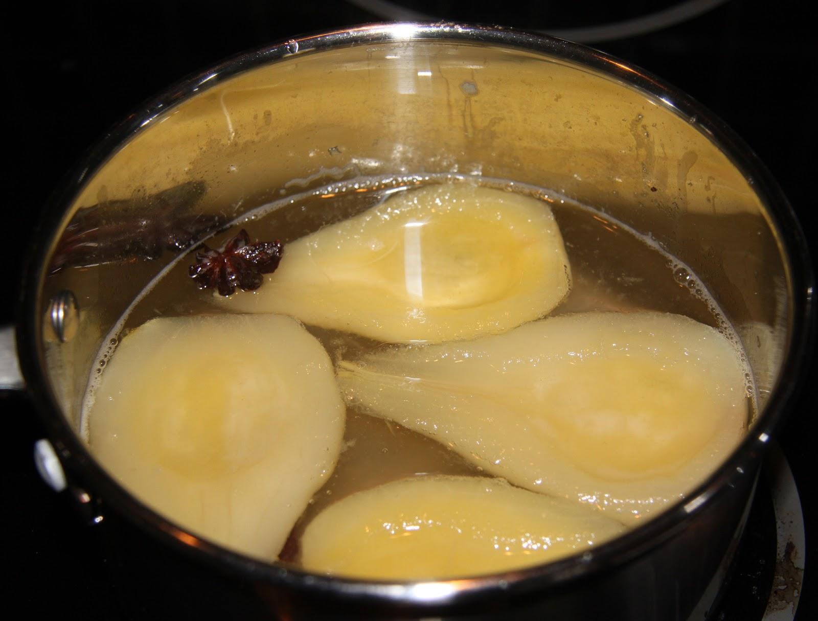 inkokta päron recept