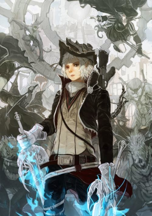 Gilang Andrian alchemaniac deviantart illustrations fantasy science fiction anime Helsing