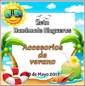 Reto handmade blogueros: accesorios de verano.