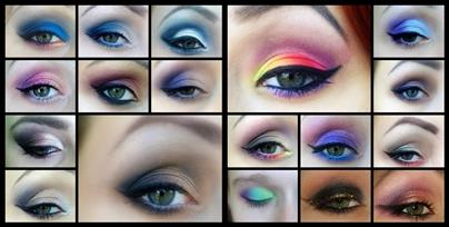Propozycje makijaży sylwestrowych :)