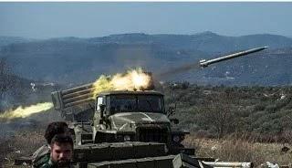 Παραδόθηκαν 'από το εξωτερικό' στους αντάρτες της Συρίας πύραυλοι 'Grad'