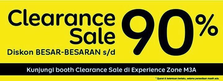 OkeShop Clearance Sale sampai 90% di MBC 2014