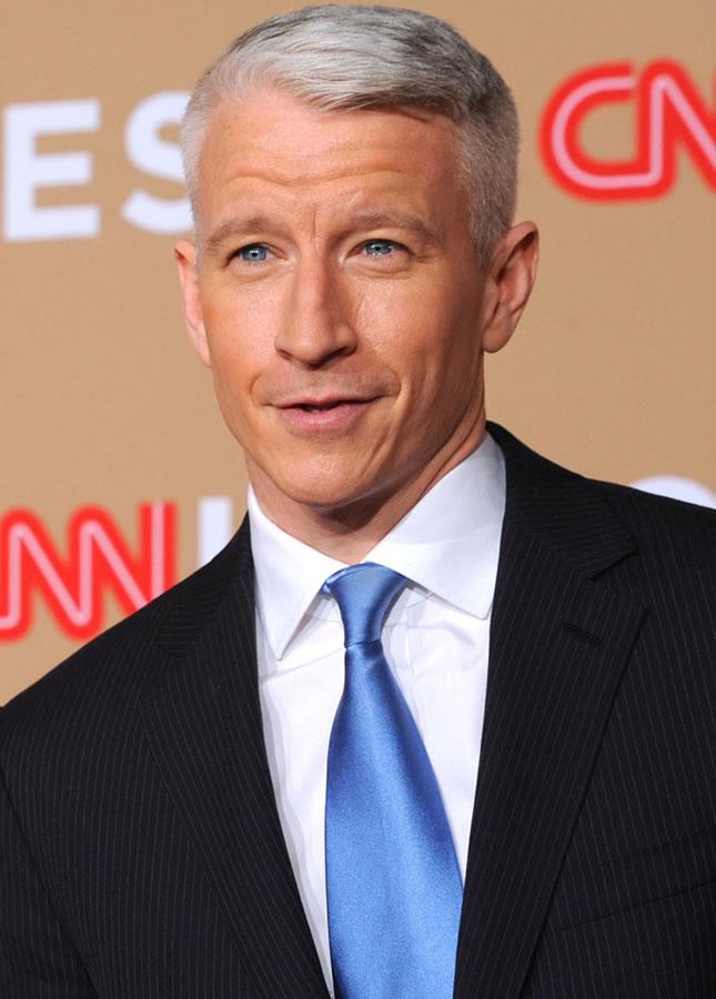 Anderson Cooper é presentador da CNN (Foto: Divulgação)