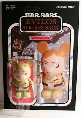 Designer Con 2011 Exclusive Empire Strikes Back Luke Skywalker Custom Star Wars Vinylmation Vinyl Figure by Evilos
