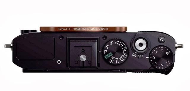 Fotografia della Sony RX1 senza l'ottica