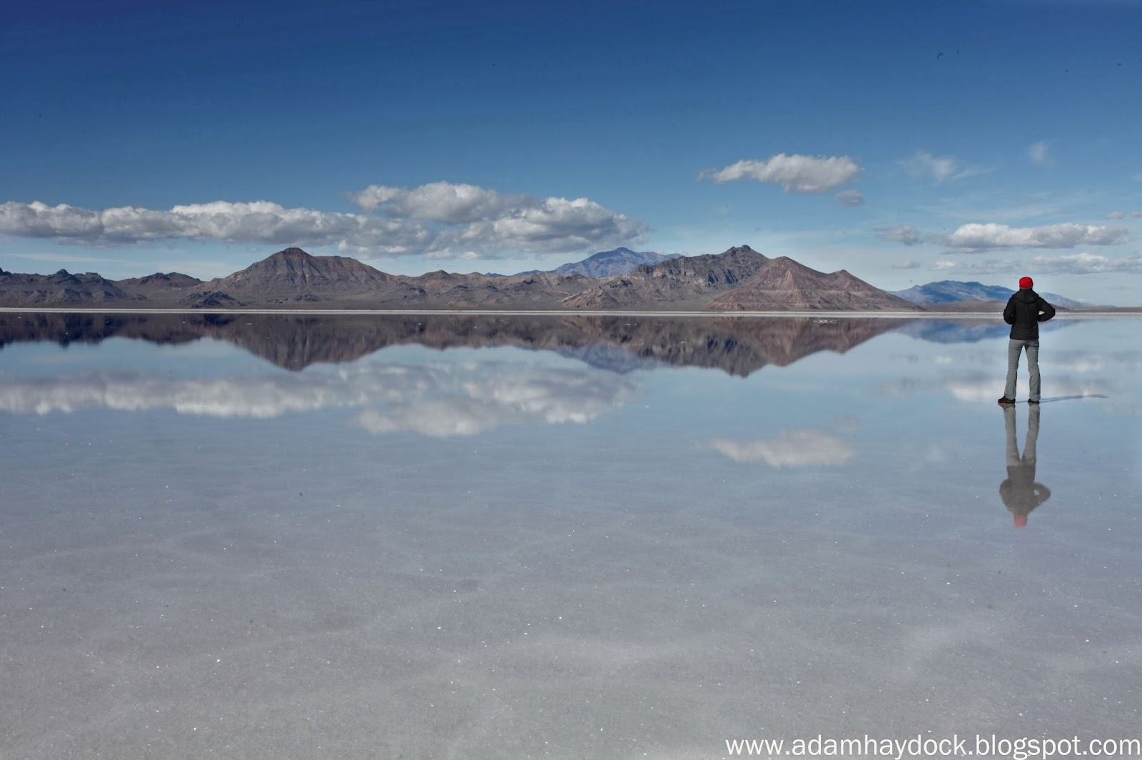 center>BONNEVILLE SALT FLATS</center> - ADAM HAYDOCK