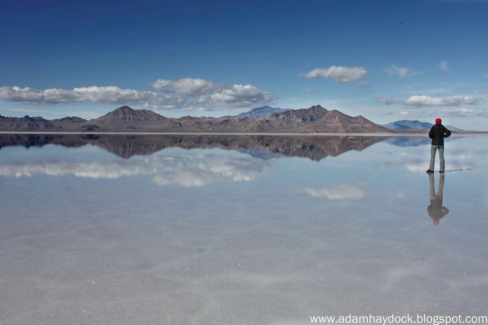 Bonneville Salt Flats Winter