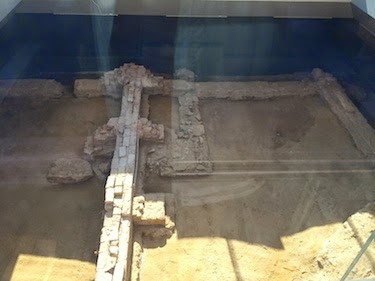 Chuck and Lori's Travel Blog - Archaeological Excavations of the President's House, Philadelphia