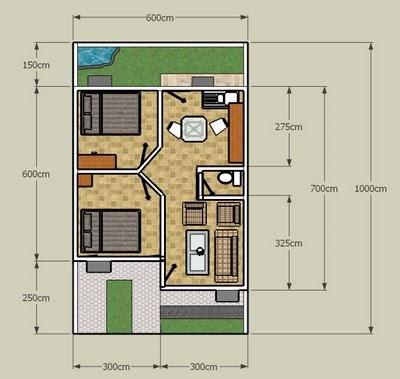 assalamuallaikum, welcome :): kumpulan gambar denah rumah