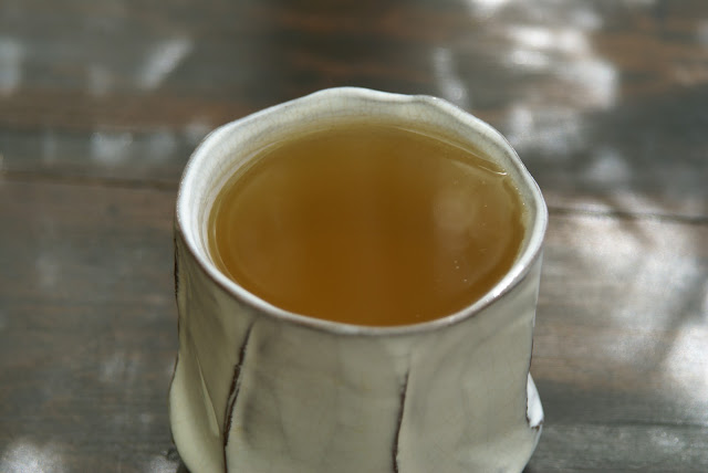 thé aiguilles de pin