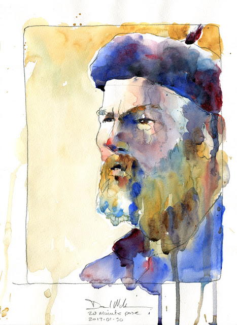 30 minute portrait by David Meldrum