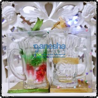 souvenir gelas gagang murah surabaya