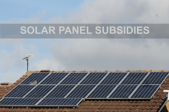 Solar panel subsidies cuts January 2016