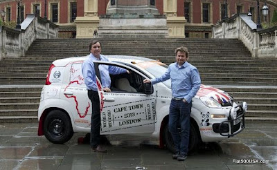 Philip Young and Paul Brace and the Fiat Panda