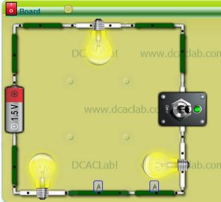 Circuito Electrico En Serie : Clase de tecnologia: circuitos eléctricos