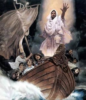 Mujizat Tuhan YESUS yang meneduhkan Badai serta gelombang...!!!