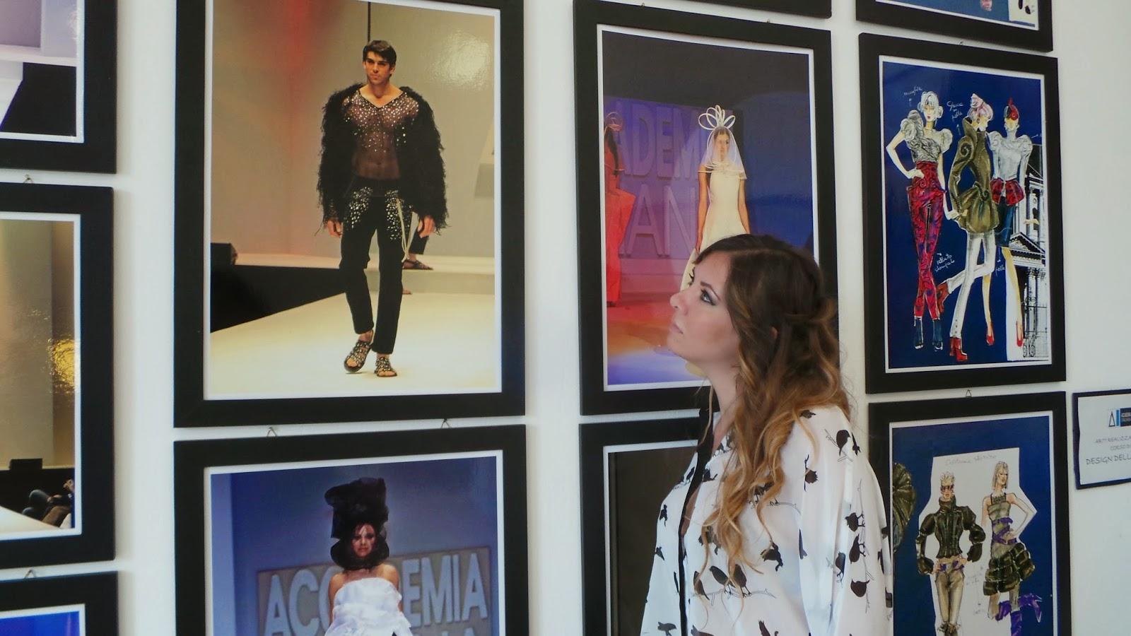 Le stanze della moda mostre di moda a roma ci pensano for Accademia della moda milano